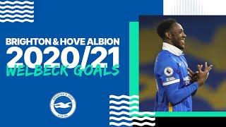 Danny Welbeck's 2020/21 Premier League Goals