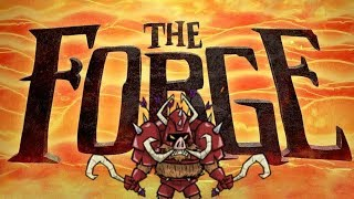 THE FORGE - 1st World Kill!! - FULL FIGHT - Don't Starve Together - Boar Warrior