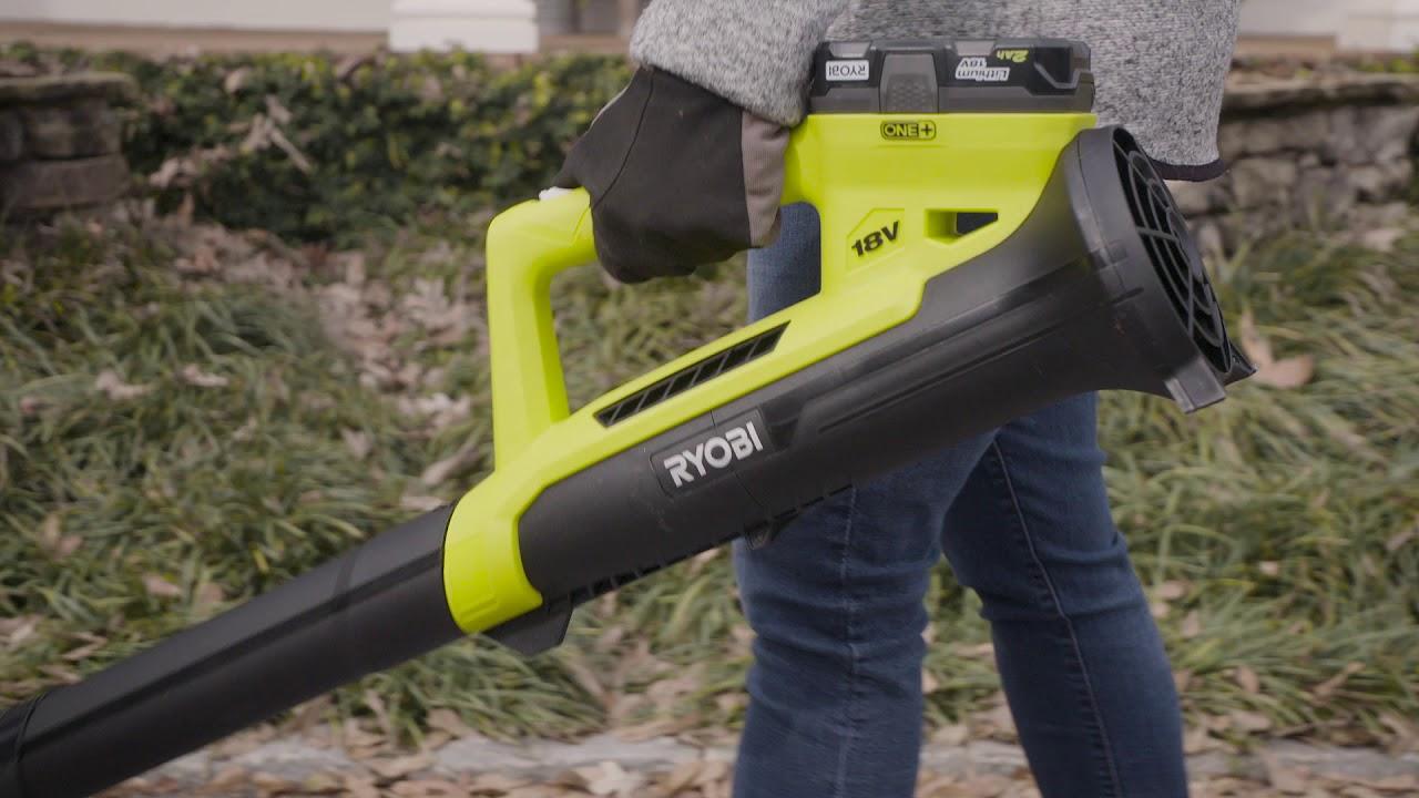 RYOBI 18V ONE+ 200 CFM Blower - YouTube