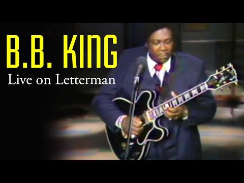 "B.B. King | ""The Thrill Is Gone"" The Late Show With David Letterman"