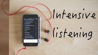 Intensive listening | Random language learning tip #6