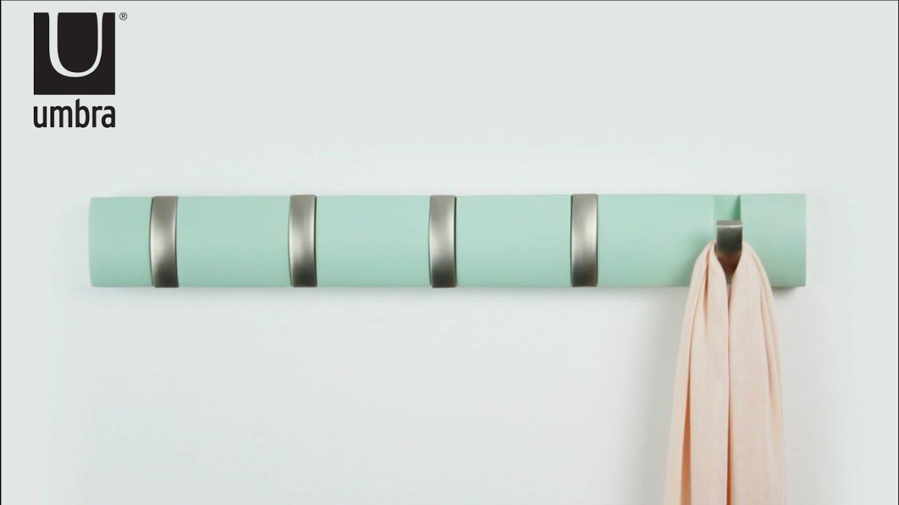 buy the umbra flip coat hook  utility design -