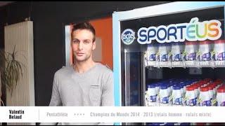Témoignage des sportifs de l'INSEP sur Sportéus de Lactel