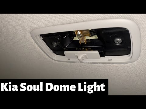 How To Change 2009 – 2013 Kia Soul Dome Light – DIY Replace Remove – Interior Bulb Replacement
