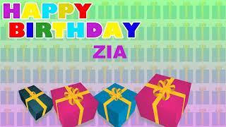 Zia - Card Tarjeta_1789 - Happy Birthday