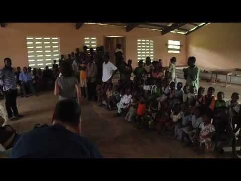 Dr. Jody Bardash in Ghana with HHAF