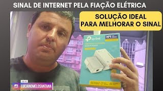 ROTEADOR PELA FIAÇÃO ELÉTRICA TL-WPA4220 KIT WIFI AV600 TP-LINK ANÁLISE