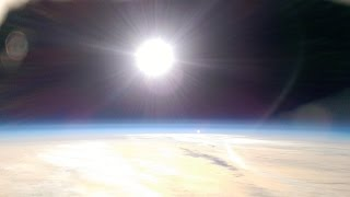 Filming In The Stratosphere With A Htc Mobile Phone Fireworks At 20 000Ft