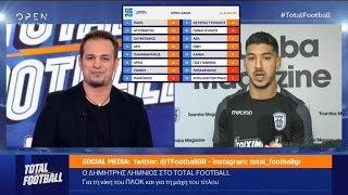 ΠΑΟΚ - ΑΕΛ 2-1: ρεπορτάζ και σχολιασμός στο Total Football (OPEN, 10/12/18)