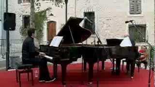 """Duo Piano - Petite Musique de Nuit """"agitée"""" à la Colle sur loup"""
