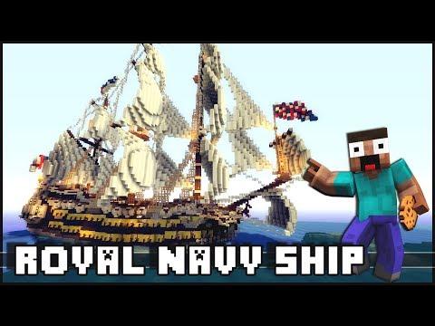 Minecraft - Royal Navy Ship