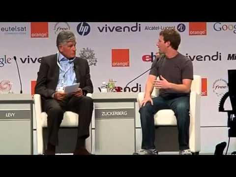 Facebook Chief Executive Mark Zuckerberg e-G8 in Deauville France 26.05.