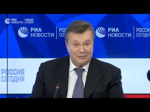 Пресс-конференция Виктора Януковича по актуальным вопросам украинской политики