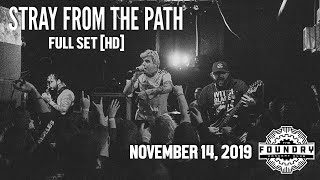 Stray from the Path - Full Set HD - Live at The Foundry Concert Club