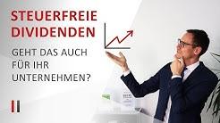 Steuerfreie Dividenden bei Telekom, Deutsche Post & Co: So können Sie Gewinne steuerfrei ausschütten