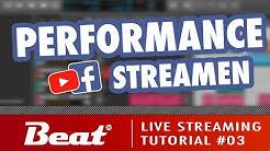 Tutorial: Live Stream für Facebook/Youtube (3/5) - Musik Performance streamen  [Zoom & OBS Studio]