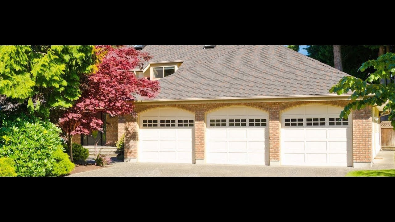 How garage door opener works youtube for How garage door works