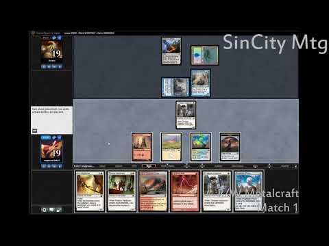 SinCity MTG R/W Metalcraft Pauper League