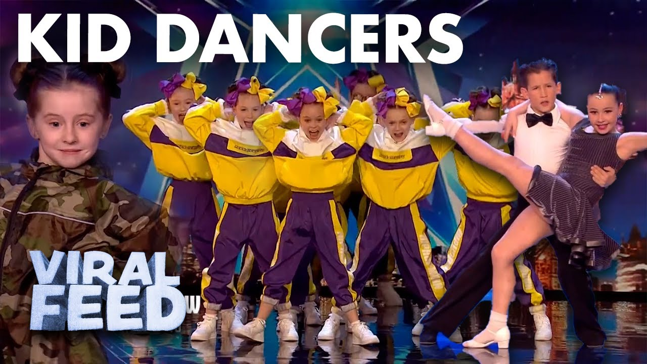 AMAZING TALENTED KID DANCERS ON BRITAIN'S GOT TALENT | VIRAL FEED