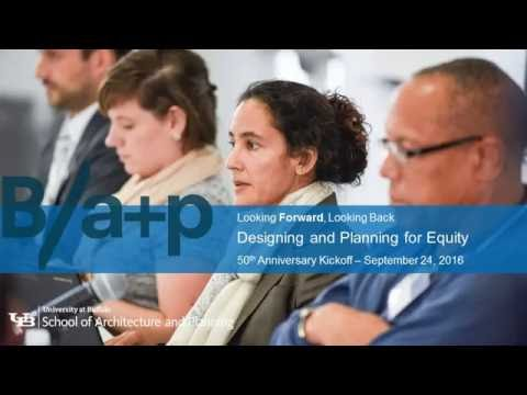 2016 HAYES HALL SYMPOSIUM - Designing and planning for equity