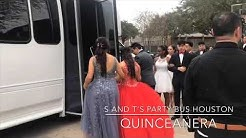Quinceanera Party Bus in Houston, TX