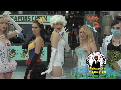 Chloe Dykstra filming Heroes of Cosplay Season 2 @ Comikaze Expo 2013 by Cosplayer Nation