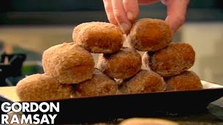 Homemade Chocolate Donuts - Gordon Ramsay thumbnail