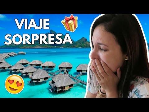 ESPOSO regala VIAJE SORPRESA a BORA BORA con un VIDEOJUEGO a ESPOSA 21 Mar 2017
