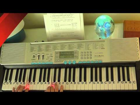 How to Play ~ All My Life Slower Version ~ KC & JoJo ~ LetterNotePlayer ©