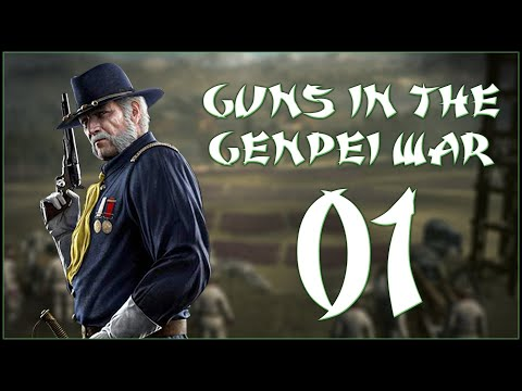 FIREARMS IN THE GENPEI WAR?! - Modded Hiraizumi Fujiwara (Legendary) - Rise Of The Samurai - Ep.01!