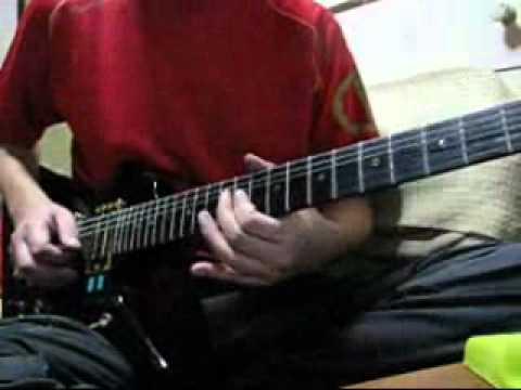 Ozzy Osbourne   Let It Die practice copy コピーの練習です。