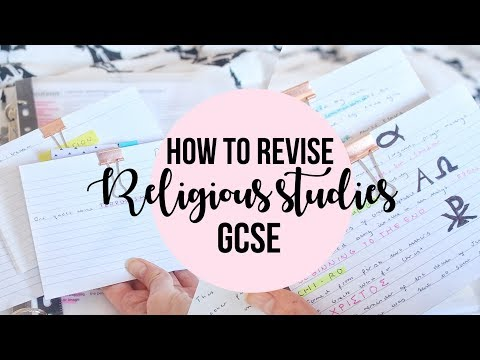 HOW TO REVISE RELIGIOUS STUDIES GCSE//GET A GRADE 9