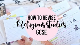 HOW TO REVISE RELIGIOUS STUDIES GCSE//GET AN A*/8