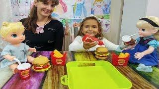 Şefin Mutfağı Tespside Hamburger Seti oyuncak kutusu açtık, eğlenceli çocuk videosu, toys unboxing
