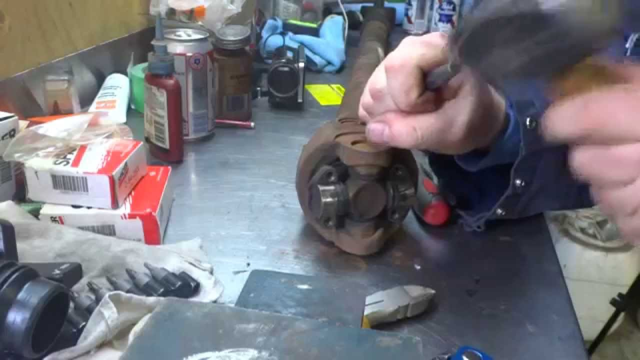 Diy Double Cardone Jeep Driveshaft Shaft Rebuild Youtube