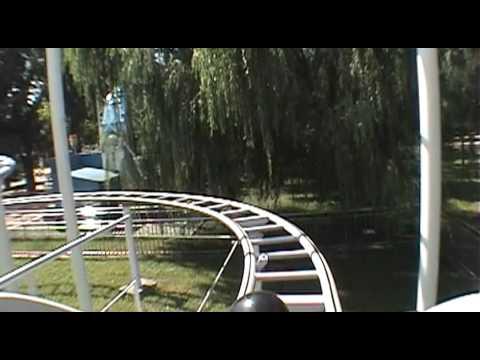 Jungle Mouse Roller Coaster Front Seat POV Sun Par...