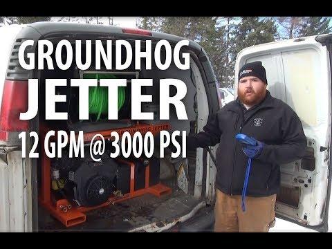 Groundhog Jetter Demo - Easy Kleen