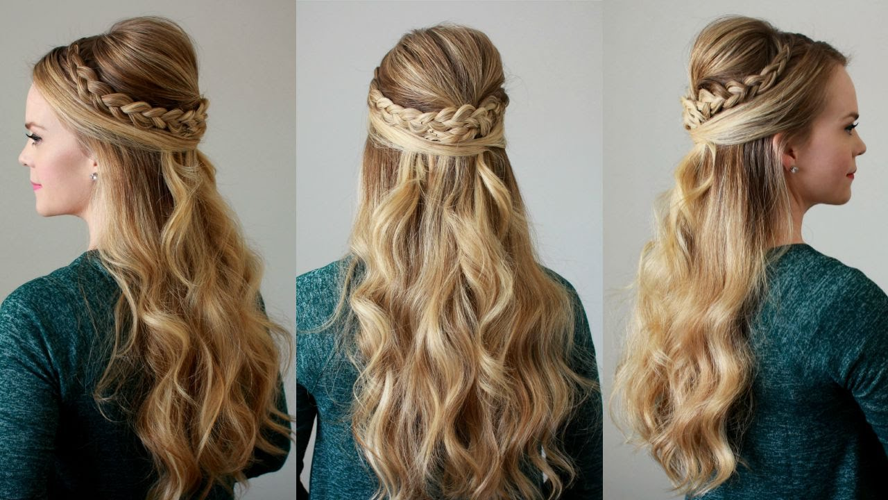 dutch braid half up half down wwwpixsharkcom images