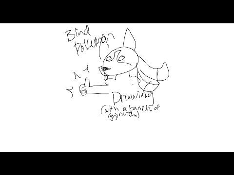 Blind Pokemon Drawing (idea From Vinsause Joel)