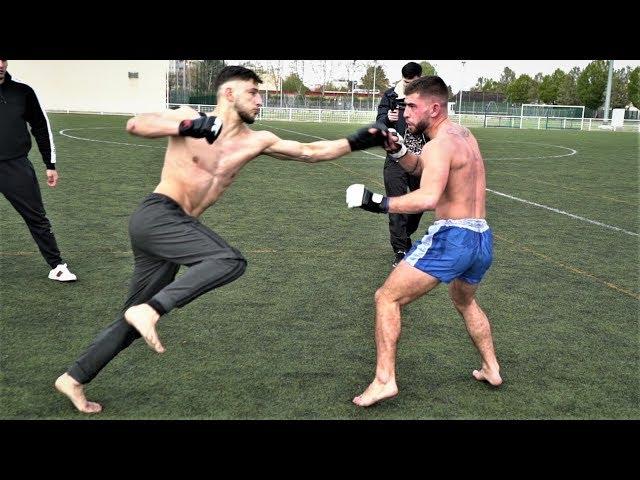 Combat de rue -Ramzan LOUP NOIR vs Maxime le MILITAIRE (YFC8)