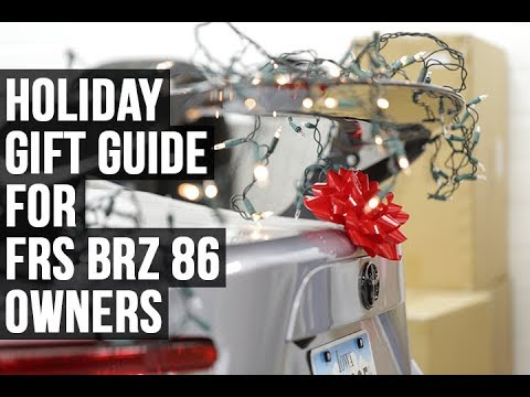 FRS BRZ 86 Holiday Gift Guide - FT86SpeedFactory
