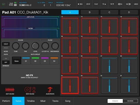 iMPC Pro 2 - Setting Up and Getting Started - Tutorial for the iPad