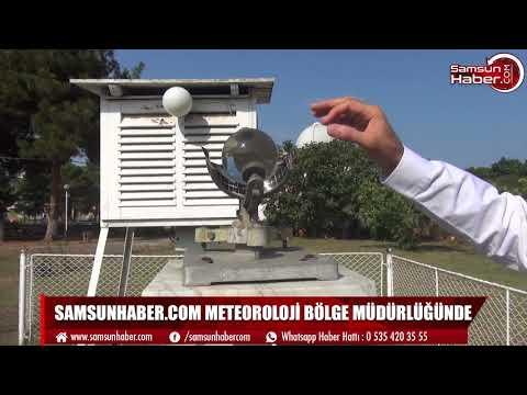 Samsunhaber.com Meteoroloji Bölge Müdürlüğü'nde