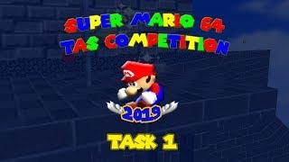 Super Mario 64 TAS Competition 2019 - Task 1