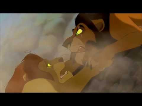 "THE LION KING (1994) Scene: ""Long live the King""/Mufasa's Death."
