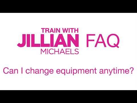 HOW TO: Change Equipment On The Jillian Michaels App