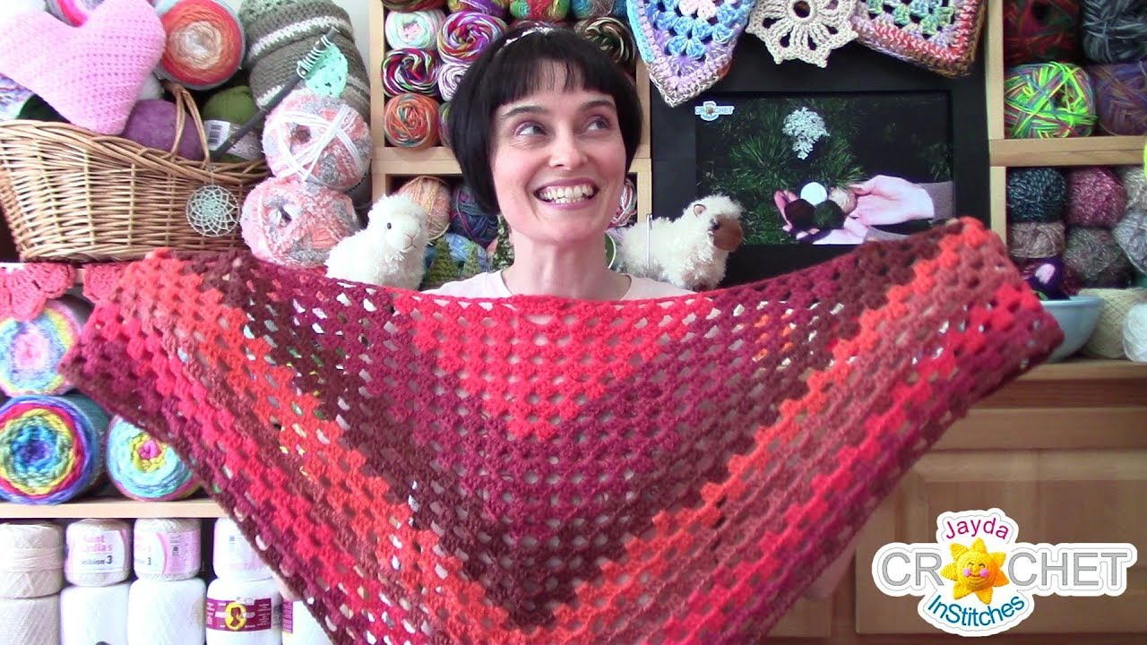 Toddler Shawl Crochet Pattern
