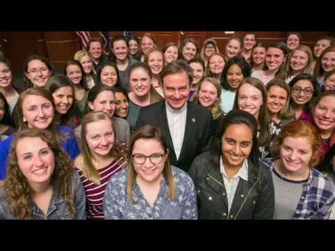 First year as president of Creighton University