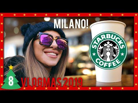 Natale da STARBUCKS a Milano   VLOGMAS 2019 #8