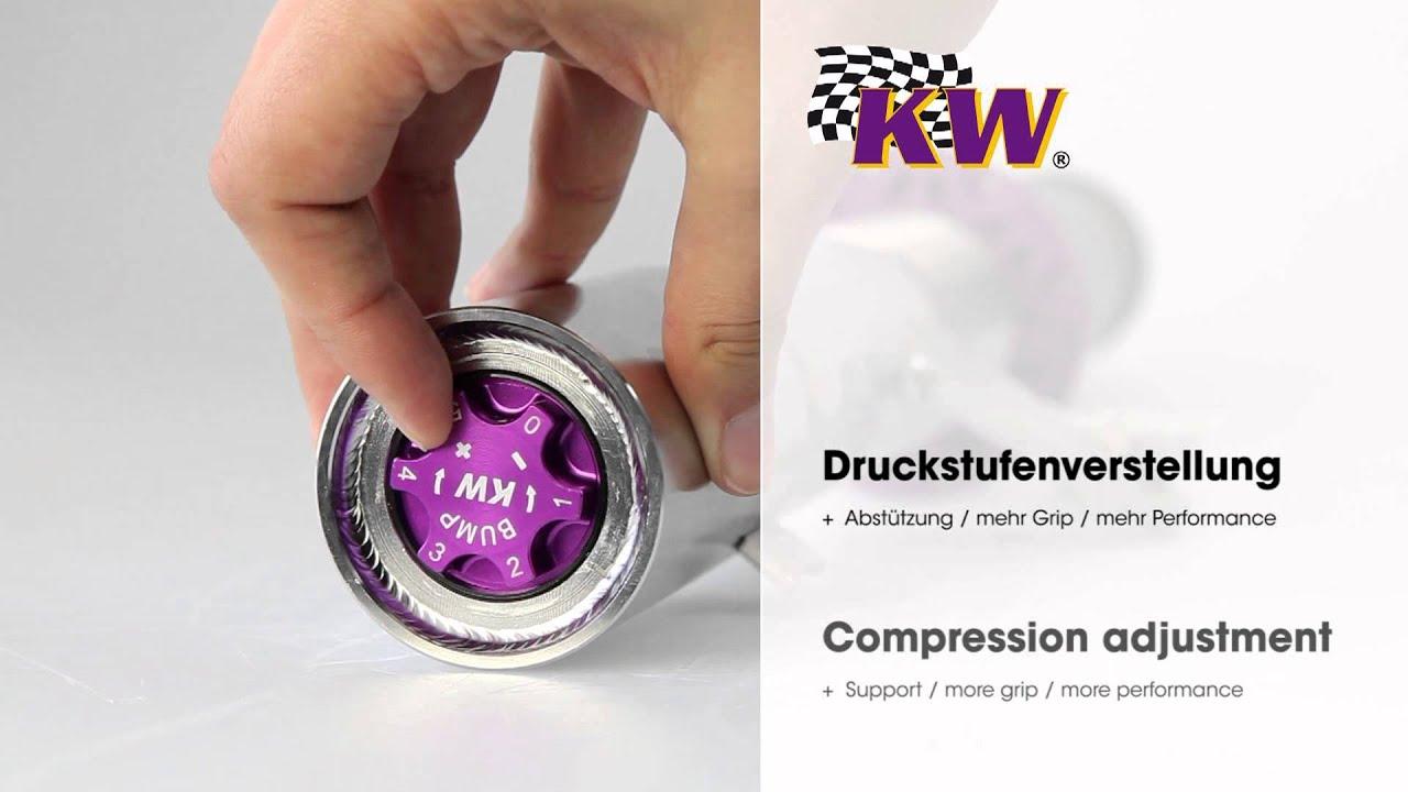 VW Golf Mk7 | KW suspensions